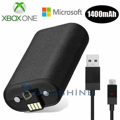 For Official Microsoft XBOX ONE Play and Charge Kit Xbox One NEW