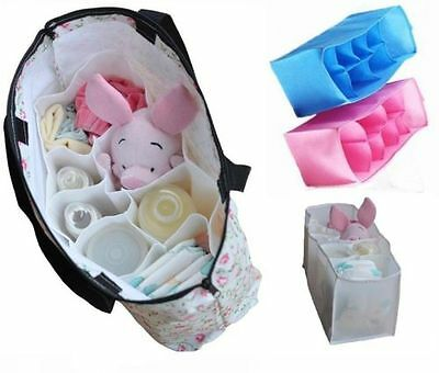 Large Nappy Bag Organiser - nappies, clothes, bottles