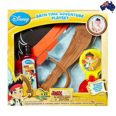 Aus Qlty Disney Jake and the Never Land Pirates Bath Play Gift Set/Body Wash