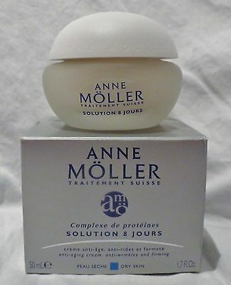 Anne Moller Solution 8 Jours Anti-Aging Cream Anti-Wrinkle and Firming Cream NEW