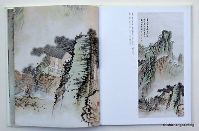 auction catalog Zhang Daqian 28 portrait and landscape Chinese painting book