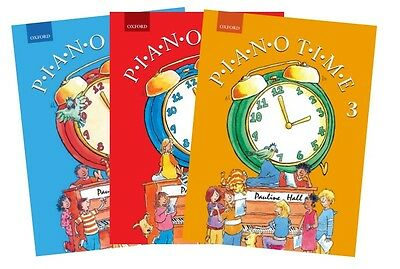 Piano Time by Pauline Hall Oxford Piano Tutor Options: Books 1,2,3 or Set