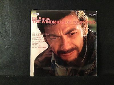 """SEALED ~ ED AMES """"The Windmills Of Your Mind"""" LP 1969 RCA LSP-4172"""