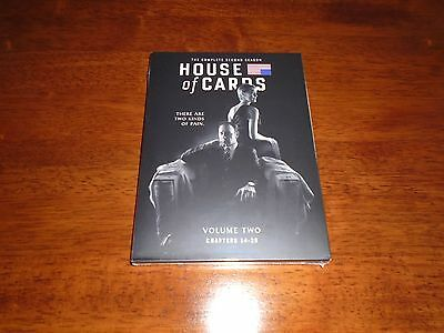 House of Cards: Season 2 (DVD, 2014, 4-Disc Set)