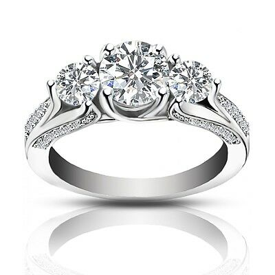 2.25 ct Ladies One Of A Kind Diamond Engagement Ring In Platinum