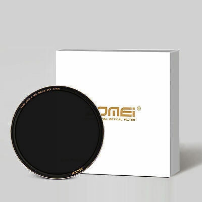 Zomei 67mm Sliver Rimmed Multi-Coated Glass Neutral Density ND64(1.8) Filter