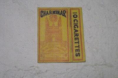 FLAT ANTIQUE RARE EMPTY VTG DIFFERENT CIGARETTE PACKET INDIA HULL PACK TENS 10s