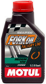 Motul Fork Oil Olio Forcelle Medium 10W Factory Line 100% Sintetico Mv Agusta