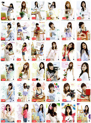 SNSD Girls' Generation Star Card Season 2.5 Common Card Full Set GG109-144