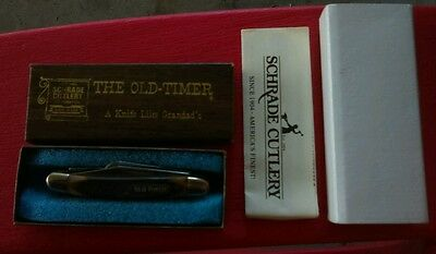 Schrade Cutlery The Old Timer pocket knife NEW with box