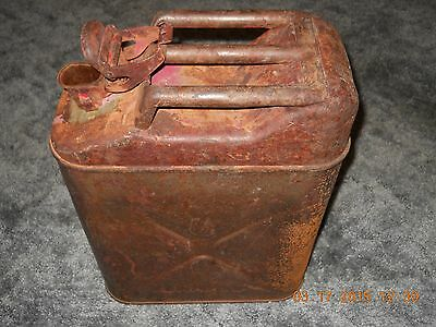 Vintage 1944 WW2 ICC CONCO USMC Marine Corps Willys Jeep Jerry Gas Can 5 Gallon