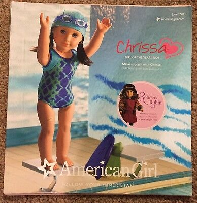 American Girl 2009 Catalog- Introducing Chrissa! Springtime Fun and Sport!
