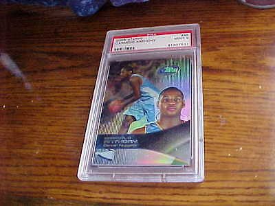 CARMELO GRADED PSA 2003-04 ROOKIE CARD FROM ETOPPS#45 GRADED MINT 9 BY PSA!!