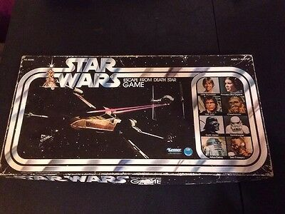 Star Wars Vintage Escape From The Death Star Board Game 1977 Palitoy