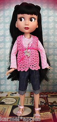 "BuBBLeGuM!~ a 3 PC Outfit for Tonner Patience 14"" DoLLs Cute! Handcrafted Set"