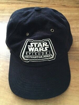 """Star Wars Episode 1 The Phantom Menace"" ILM VFX CREW 1998  Hat"