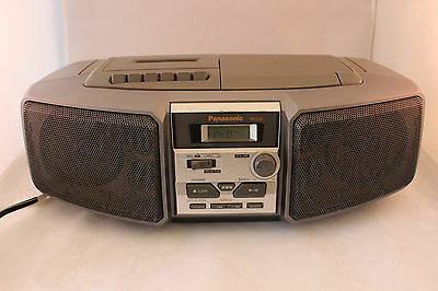 Vintage Panasonic RX-DS5 Radio/Cassette/CD Boombox - Looks & Works Great