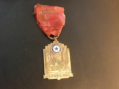 Vintage 1936 American Legion Medal National Convention Cleveland Ohio