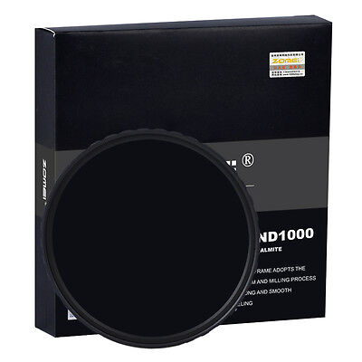 Zomei 10-stop HD 67mm Ultra Slim ND1000 Optical Glass Neutral Density filter