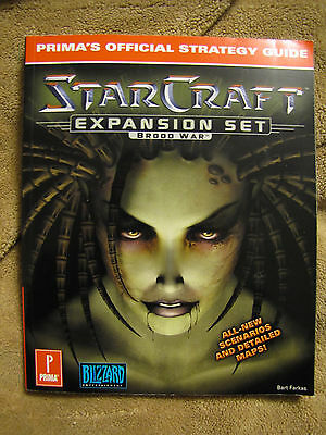 Starcraft Expansion Set: Brood War : Prima's Official Strategy Guide by Prima...