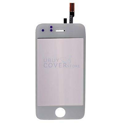 Replacement Touch LCD Screen Glass Digitizer & Fix Part for White iPhone 3GS