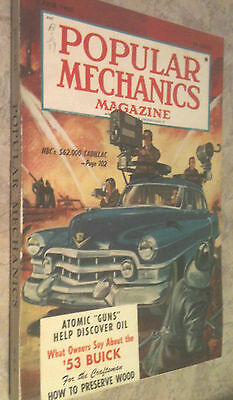 1953 - JUNE - Popular Mechanics - WHAT OWNER'S SAY ABOUT THE 1953 BUICK