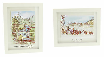 NEW Winnie The Pooh Wall Art Print Picture Poster Nursery Baby Christening Gift