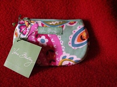 Vera Bradley clip zip ID in tutti frutti pattern, new with tags, never used