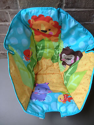 NEW - Fisher Price Precious Planet Blue Sky Space Saver Swing Seat Pad Cover