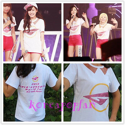 Girls' Generation SONE SNSD girls peace T-SHIRT TEE KPOP GOODS NEW