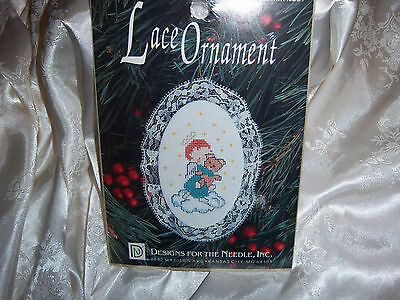 counted cross stitch kit Lace Ornament