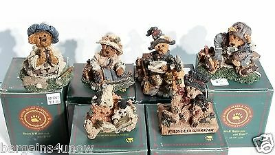 Boyds Bears Collection Mixed Lot of 6 Resin Bears New in Boxes (Listing 3)