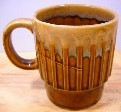 Gold Drip VTG Stackable Coffee Mug Japan