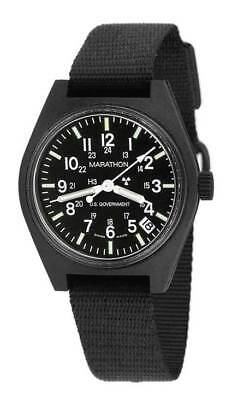 US MILITARY ISSUE FIELD WATCH MARATHON QUARTZ DATE ARMY GI NEW w/ BOX + WARRANTY