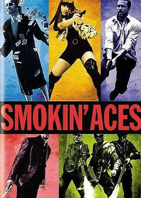 Smokin' Aces (Widescreen Edition), Good DVD, Jeremy Piven, Ryan Reynolds, Ray Li
