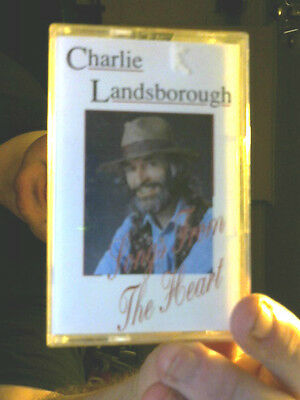 SIGNED INLAY SONGS FROM THE HEART TAPE CHARLIE LANDSBOROUGH FREE UK POSTAGE!