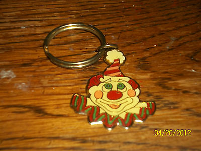 LAS VEGAS RENO NEVADA CIRCUS CIRCUS HOTEL CASINO CLOWN HEAD METAL KEYCHAIN