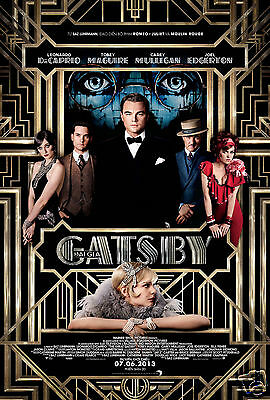 The  Great  Gatsby film poster  Quality Photo print A4, or A5