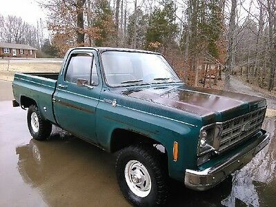 Chevrolet : C/K Pickup 1500 SCOTTSDALE 1977 chevrolet k 10 4 x 4 scottsdale 75 000 original miles