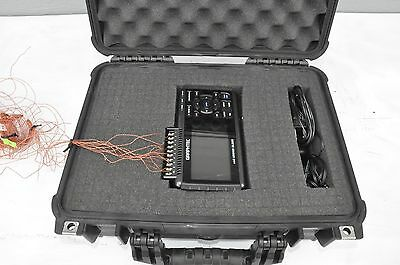 Graphtec GL220 10-Channel Handy-Type Midi Logger with huge 2GB Flash + Suitcase