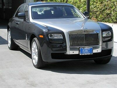 Rolls-Royce : Ghost 4dr Sdn Dkt Turngsten with Blk , 4 seat configuration