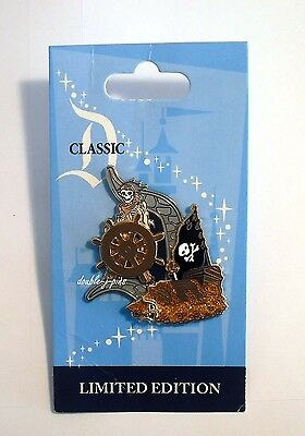 Disney DLR Pirates of the Caribbean Attraction Classic D Collection LE Pin
