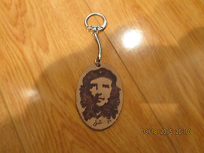 Very rare collectable KEY CHAIN CUBA ON ONE SIDE & CHEGIVARA ON THE OTHER SIDE