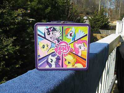 My Little Pony Metal Lunch Box 2013