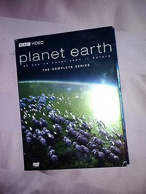 DVD, BBC Planet Earth, preowned, in great condition the complete series