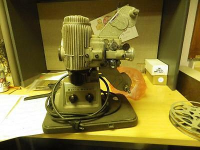 Antique Bell & Howell 16mm Model 173 Movie Projector Super Proval 2 Inch LSDT 41