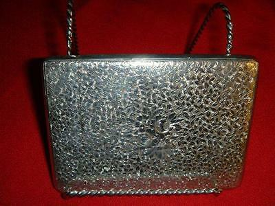 English Sterling Silver Calling Card Case George Unite 1885