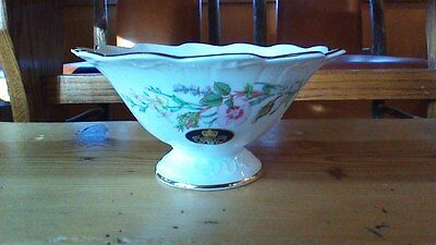Aynsley Bone China Floral Dish