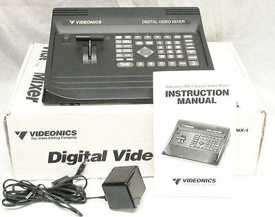 Videonics MX-1 Digital Video Mixer Switcher **MINT** Must See This****