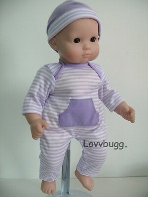"""Lavender Onesie & Hat Clothes for 15 - 18"""" Doll Bitty Baby  LOVVBUGG: FOUND IT!"""